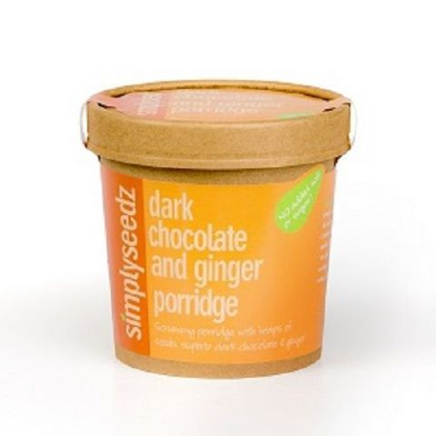 Dark Chocolate & Ginger Instant Porridge Pot 60g